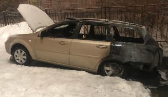 Сегодня ночью в пензенском Арбеково сгорела иномарка