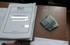 Башмаковец, пытаясь подкупить дознавателя, нарвался на уголовное дело
