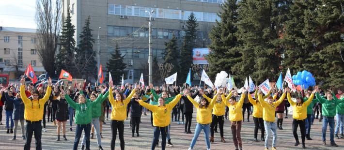 «Крымская весна» в Пензе: буквы сменили на танцы