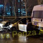 Серьезное ДТП в пензенском Арбеково: легковушка столкнулась с маршруткой