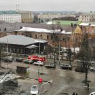 Возле «Дома Мейерхольда» найдена подозрительная сумка, на месте работают полиция и МЧС