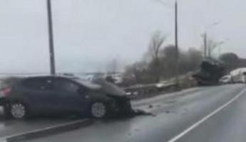 Обнародовано видео с места смертельного ДТП в Пензенской области