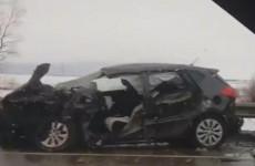 В Сети появилось еще одно видео с места смертельной аварии в Пензенской области