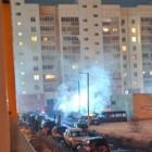 В ГУ МЧС прокомментировали пожар на улице Ново-Казанской в Пензе