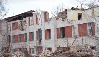 В Пензе продолжают сносить аварийные дома