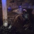 Жесткое ДТП в Пензе: иномарка влетела в столб, есть пострадавшие