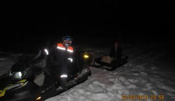 Пензенские спасатели вызволили пожилого мужчину из снежного плена