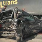 В Пензенской области фура раздавила легковой автомобиль