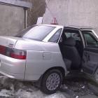 В Пензенской области водитель легковушки на всей скорости влетел в бетонный блок