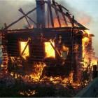 В Бессоновском районе произошел серьезный пожар