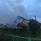 В Пензе из-за неисправной проводки сгорел дом