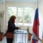Коломыцева: «Если столько грязи было, значит, я побеждаю». Кандидат от СР проголосовала на выборах
